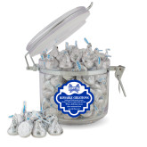 Kissable Creations Round Canister-Hampton Pirates Swords