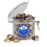 Snickers Satisfaction Round Canister-Hampton Pirates Swords