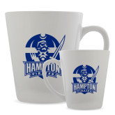 Full Color Latte Mug 12oz-Hampton Pirates