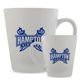 Full Color Latte Mug 12oz-Hampton Pirates Swords