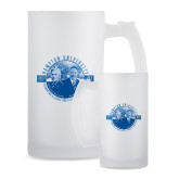 Full Color Decorative Frosted Glass Mug 16oz-Celebrating A Legacy and A Legend of Exc
