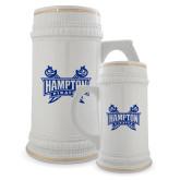 Full Color Decorative Ceramic Mug 22oz-Hampton Pirates Swords