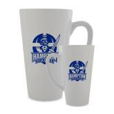 Full Color Latte Mug 17oz-Hampton Pirates