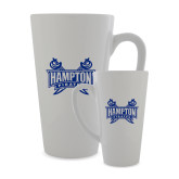 Full Color Latte Mug 17oz-Hampton Pirates Swords
