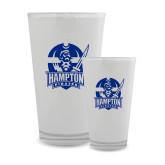 Full Color Glass 17oz-Hampton Pirates