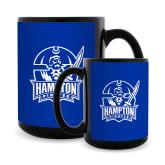 Full Color Black Mug 15oz-Hampton Pirates