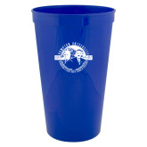 22 oz Royal Transparent Stadium Cup-Celebrating A Legacy and A Legend of Excellence