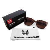 Ladies Under Armour Perfect Tortoise Sunglasses-Hampton Pirates Swords