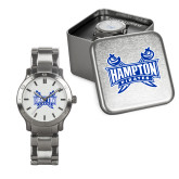 Mens Stainless Steel Fashion Watch-Hampton Pirates Swords