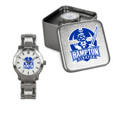 Ladies Stainless Steel Fashion Watch-Hampton Pirates