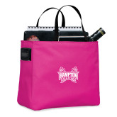 Tropical Pink Essential Tote-Hampton Pirates Swords