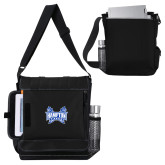 Impact Vertical Black Computer Messenger Bag-Hampton Pirates Swords