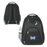 The Ultimate Black Computer Backpack-Hampton Pirates Swords
