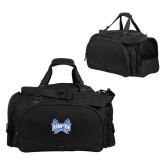 Challenger Team Black Sport Bag-Hampton Pirates Swords
