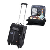 Wenger 4 Wheeled Spinner Black Carry On-Hampton Pirates Swords