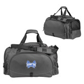 Challenger Team Charcoal Sport Bag-Hampton Pirates Swords