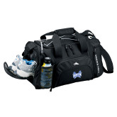 High Sierra Black Switch Blade Duffel-Hampton Pirates Swords
