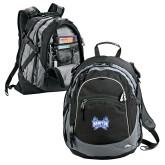 High Sierra Black Titan Day Pack-Hampton Pirates Swords
