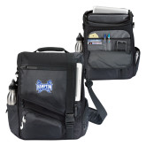 Momentum Black Computer Messenger Bag-Hampton Pirates Swords