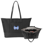 Stella Black Computer Tote-Hampton Pirates Swords