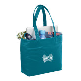 Fine Society Teal Computer Tote-Hampton Pirates Swords