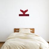 1 ft x 1 ft Fan WallSkinz-Hartford w/ Hawk Combination Mark
