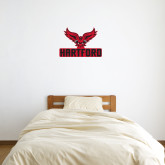 2 ft x 2 ft Fan WallSkinz-Hartford w/ Hawk Combination Mark
