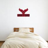 2 ft x 2 ft Fan WallSkinz-Hartford w/ Hawk Combination Mark