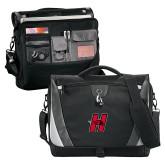 Slope Black/Grey Compu Messenger Bag-Primary Logo Mark H