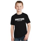 Youth Black T Shirt-Lacrosse