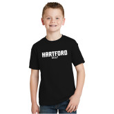Youth Black T Shirt-Golf