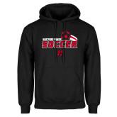 Black Fleece Hoodie-Hartford Hawks Soccer Swoosh