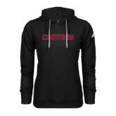 Adidas Climawarm Black Team Issue Hoodie-Hartford Logotype