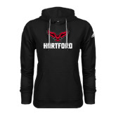 Adidas Climawarm Black Team Issue Hoodie-Hartford w/ Hawk Combination Mark