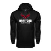 Under Armour Black Performance Sweats Team Hoodie-Basketball