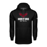 Under Armour Black Performance Sweats Team Hoodie-Softball