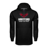 Under Armour Black Performance Sweats Team Hoodie-Cross Country