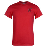 Red T Shirt-Primary Logo Mark H