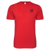 SoftStyle Red T Shirt-Primary Logo Mark H