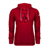 Adidas Climawarm Red Team Issue Hoodie-Primary Logo Mark H