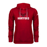 Adidas Climawarm Red Team Issue Hoodie-Hartford w/ Hawk Combination Mark