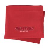 Red Sweatshirt Blanket-Hartford Logotype