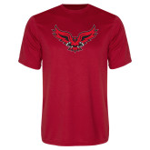 Performance Red Tee-Full Body Hawk
