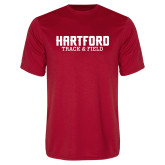 Syntrel Performance Red Tee-Track and Field