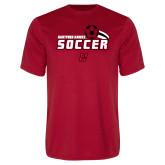 Performance Red Tee-Hartford Hawks Soccer Swoosh