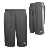 Adidas Climalite Charcoal Practice Short-Primary Logo Mark H