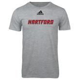 Adidas Sport Grey Logo T Shirt-Hartford Logotype