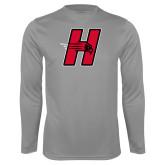 Performance Steel Longsleeve Shirt-Primary Logo Mark H