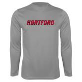 Performance Steel Longsleeve Shirt-Hartford Logotype