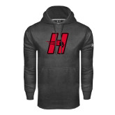 Under Armour Carbon Performance Sweats Team Hoodie-Primary Logo Mark H